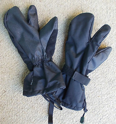 Shooting TRIGGER MITTENS Army size SM(men's) Aust Combat RAInf. Hunt Fish Hike