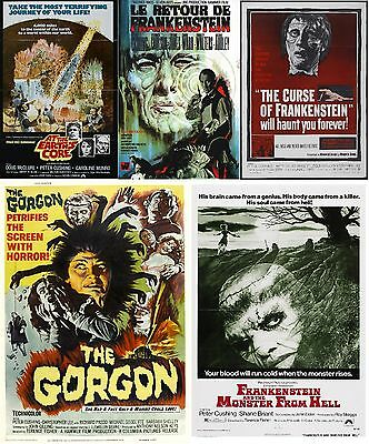 Peter Cushing - A4 Laminated Mini Movie Posters - Buy 4 Get 1 FREE!