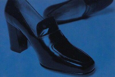 AUSTRALIAN AVANT ART ADVERTISING POSTCARD Linea Verde Shoes