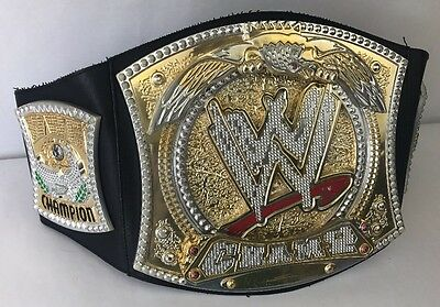 2010 WWE WORLD HEAVYWEIGHT CENA Championship Belt Childrens Toy Triple h