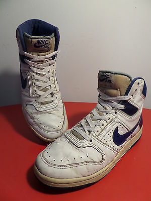 80s NIKE DELTA FORCE AC - sneakers vintage NO retro oldschool Trainers