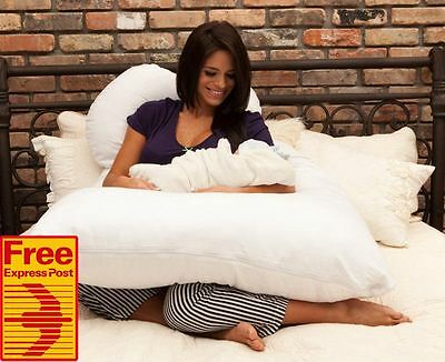 (Free Express) Pregnancy Pillow Maternity Bed Dress Nursing Sleeping Body Pillow