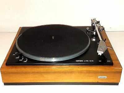 Lenco L75 turntable with Stanton 500 cartridge