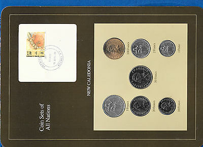 Coin Sets of All Nations New Caledonia 1984-1987 UNC 50 Francs 1987