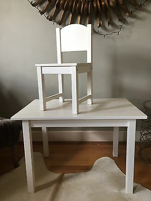 Kids Ikea Table and Chair