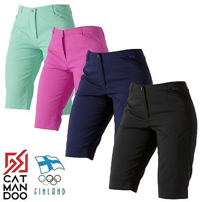 Catmandoo Leone Ladies AquaTech Stretch Golf Short Womens Technical Bottoms