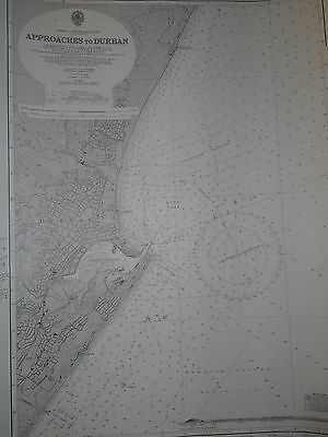 Africa South East Coast CM577 Found in a treasure chest! Vintage marine chart