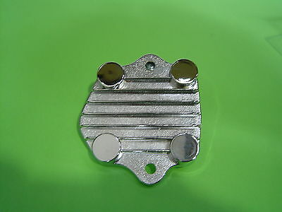 Holden 6 149-202 EH-WB,LC-UC,VB-VK Chrome Oil Pump Cover Plate Sent Registered P