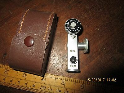 Vintage Kresta Camera Rangefinder in Leather case - needs attention