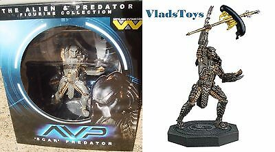 Eaglemoss 1/16 Alien & Predator Collection Scar Predator (AVP) Issue 2