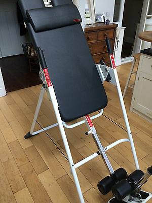 Mastercare Inversion table. Professional rehab equipment. Cost £840.