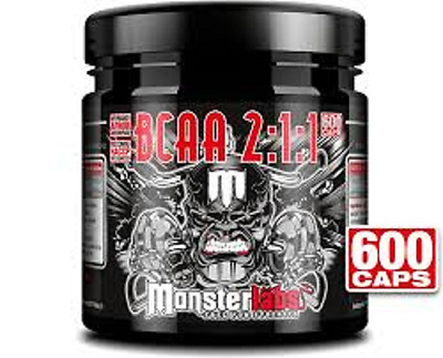 Pure Bcaa Monster Labs 600Caps