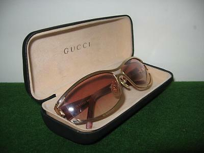 Vintage women's Gucci sunglasses with case in fantastic condition