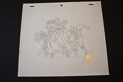 3 for 20 Original Animation Production Drawing from Batman:The Animated Series