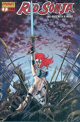 Red Sonja #1 By Oeming Carey & Rubi Cassaday Variant Cover D Dynamite NM/M 2005