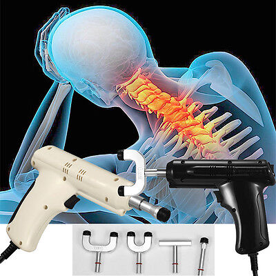 Electric Chiropractic Adjusting Tool Therapy Spine Activator Correction Massage