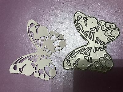 Dovecraft Pretty Butterfly  Cutting And Embossing Die New Lower Price!!!!!!!!!!!