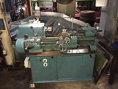 Harrison L5A 9 Inch Swing Centre Lathe Single Phase With Tooling
