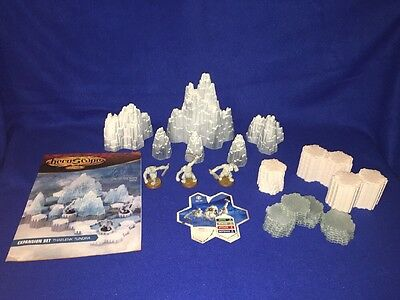 Heroscape Thaelenk Tundra Expansion Set with Manual See Below