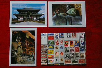 Japanese postcards.