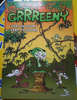 BD Kid Paddle - Greeny tome 1 EO