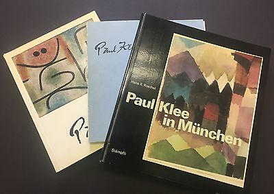 Felix KLEE: Collection of Letters and Signed Catalogs from Paul KLEE (Artist)