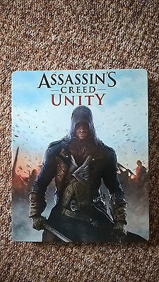 Assassins Creed Unity Steelbook Steelcase G2 PS4 Xbox One MINT NEW
