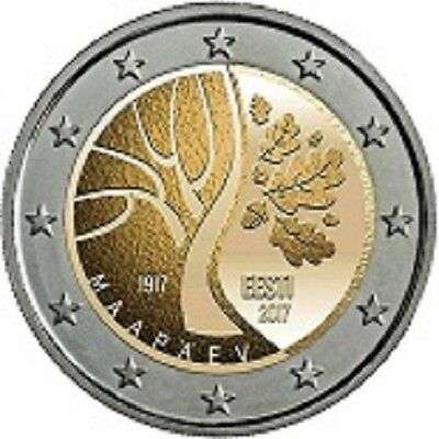 2 Euro Commemorative 2017 Estonie Independande