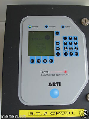 Art Online Particle Counter Oil (Opco), Arti Online Particle Counter Oil