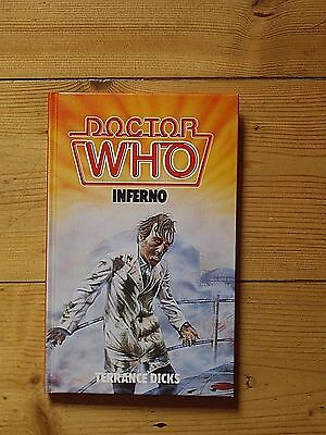 Doctor Who Inferno *1984 W H ALLEN HARDBACK, NOT EX-LIBRARY*
