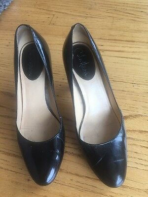 Cole Haan Nike Air Womens Black Patent Leather Pumps Shoes Size 8.5 B