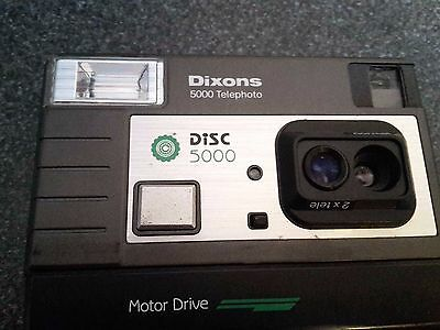 ***Vintage*** Dixons 5000 Telephoto Disc Camera Great Display Piece