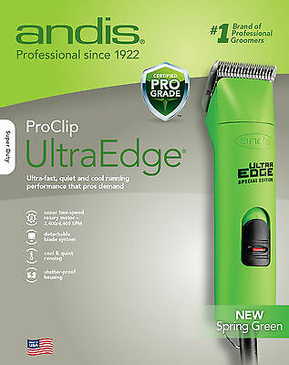 Andis ProClip AGC2 UltraEdge 2-Speed Clipper GREEN New Brand!