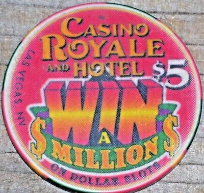 $5 Win A Million Gaming Chip From The Casino Royale Casino Las Vegas Nv