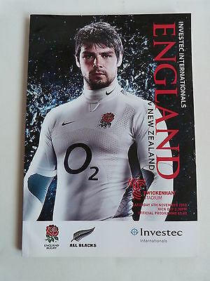2010 England V New Zealand - Investec International - Twickenham