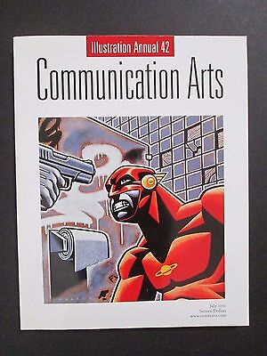 COMMUNICATION ARTS Illustration Annual 42 - July 2001