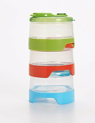 OXO Tot 6 Piece Stackable Formula Containers Set (3 Pack)