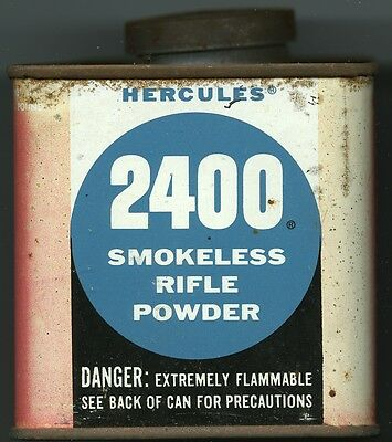 Vintage Hercules 2400 Powder Can (EMPTY)
