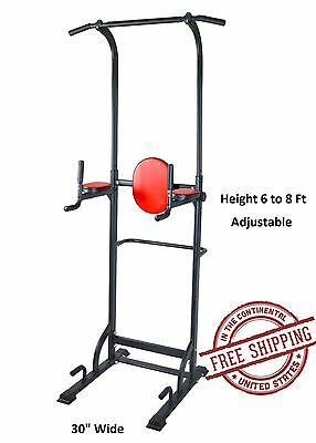 Pull Up Station Power Tower VKR Chin-Up Bar Durable Sturdy Stand Dip Station New