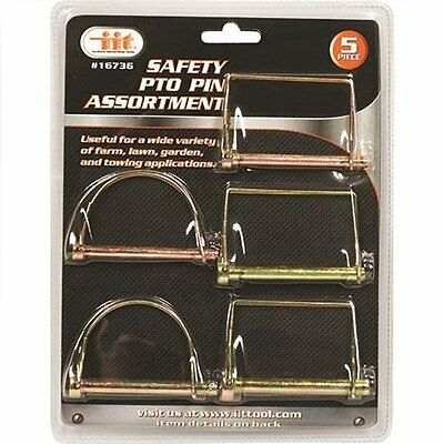IIT 16736 Safety PTO Pin Assortment 5-Piece