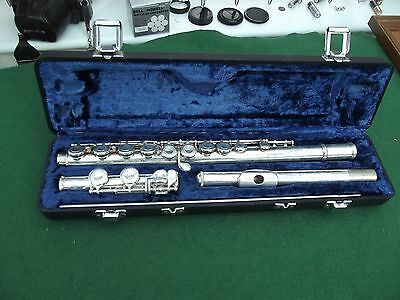 Arbiter Pro Sound London Made Flute In Lined Case