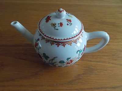 Franklin Mint - Chinese - Small Miniature Teapot - Porcelain