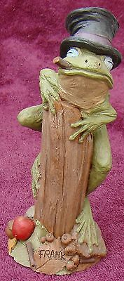 """Tom Clark Gnome Frank The Frog Mold 56 Cairn Studios 1998 Tim Wolfe 6"""" Frog"""
