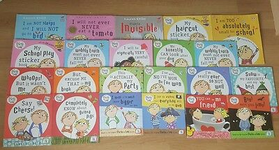 Charlie and Lola Book collection - 22 books - bundle set multi