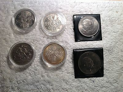 Crown Coin Collection, 1951, 53 & 1965....
