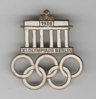 Orig.Pin    XI.Olympic Games BERLIN 1936  -  OFFICIAL LOGO  !!  EXTREM RARE