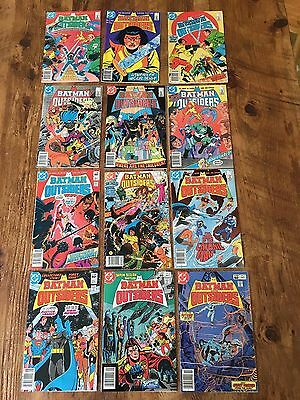 DC BATMAN AND THE OUTSIDERS 1987 COMPLETE RUN SET #1-35 + ANNUAL 1 and 2 FN+