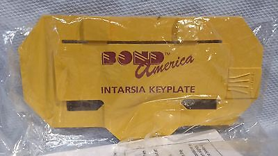 Part Intarsia Keyplate for Bond Ultimate Sweater Machine with Instructions
