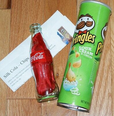 Silkola with Pringles Can --innocent looking props for amazing silk magic   TMGS