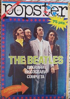 Popster: N.7 -Especial:  The Beatles !!!!!! (Spanish Magazine)